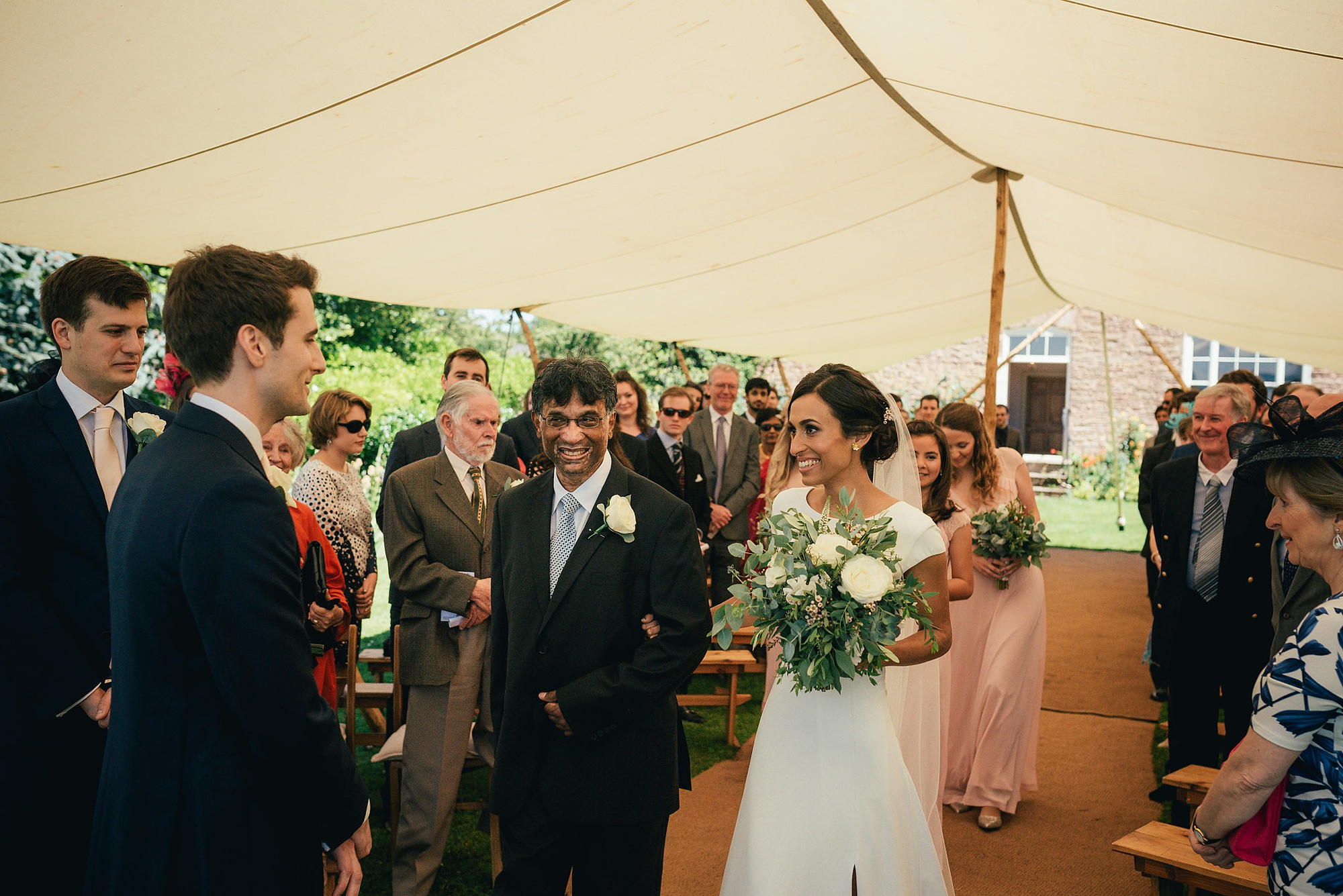 Relaxed photography wedding